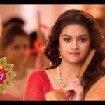 Keerthy Suresh chennai Silks diwali Ad (33)