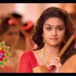 Keerthy Suresh chennai Silks diwali Ad (34)