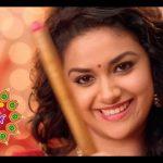 Keerthy Suresh chennai Silks diwali Ad (36)