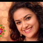 Keerthy Suresh chennai Silks diwali Ad (38)