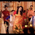 Keerthy Suresh chennai Silks diwali Ad (8)