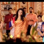 Keerthy Suresh chennai Silks diwali Ad (9)
