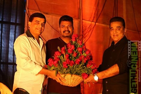 indian 2 Dil Raju, Shankar and Kamal Haasan