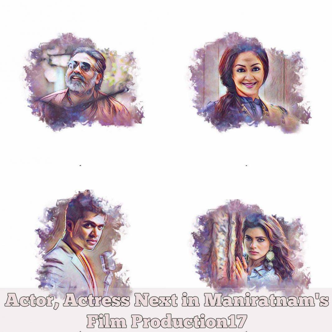 Actor, Actress Next in Maniratnam's Film Production17