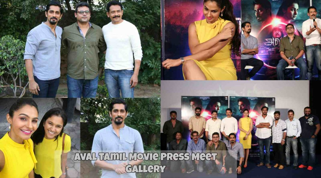 Aval Tamil Movie Press Meet