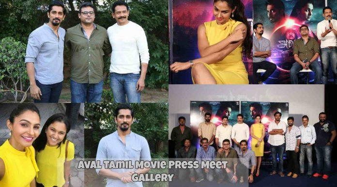 Aval Tamil Movie Press Meet
