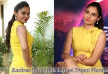 Andrea Jeremiah Latest Photos at Aval Press Meet