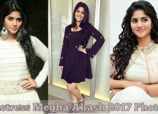 Actress Megha Akash 2017 Photos
