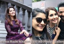 Actress Rashi Khanna 2017 HD Photos