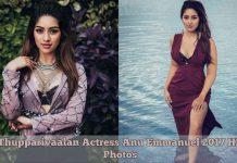 Thupparivaalan Actress Anu Emmanuel 2017 HD Photos
