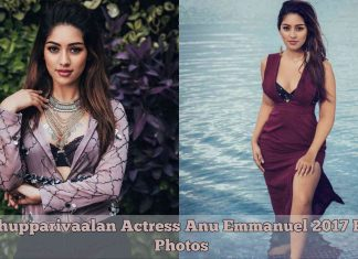 Thupparivaalan Actress Anu Emmanuel 2017 HD Photos