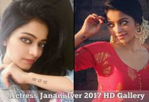 Actress Janani Iyer 2017 HD Photos
