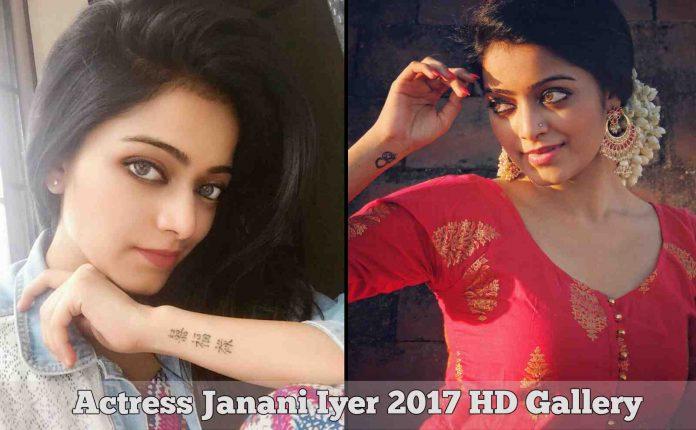 Actress Janani Iyer 2017 HD Photos