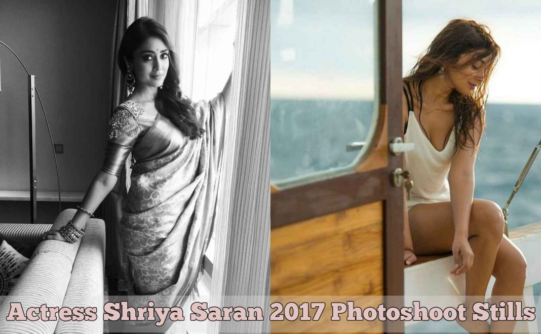 Actress Shriya Saran 2017 Photoshoot Stills