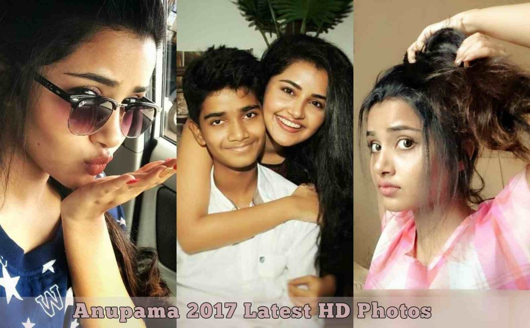 Actress Anupama Parameswaran 2017 Latest HD Photos