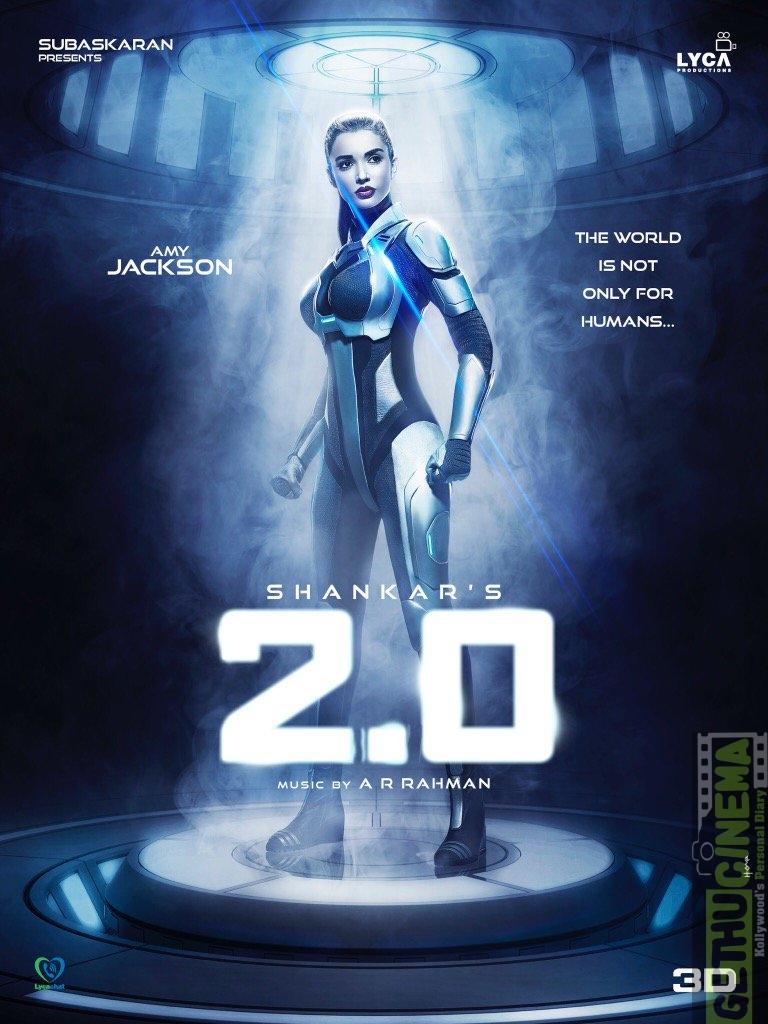 2.0 aka Enthiran 2, Amy Jackson,