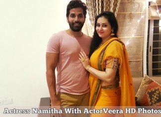 Actress Namitha With ActorVeera HD Photos