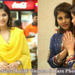 Actress Anjali Unseen & Rare Photos