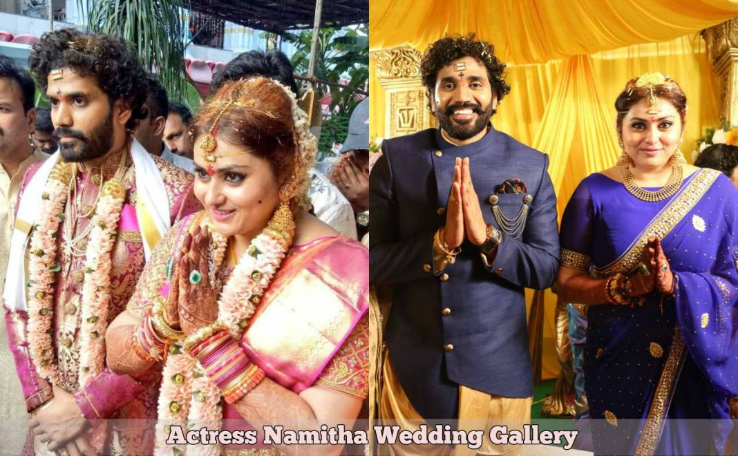 Actress Namitha Wedding HD Photos