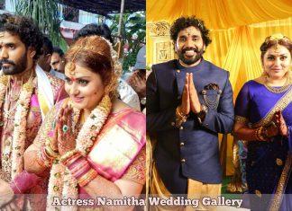 Actress Namitha Wedding HD Photos