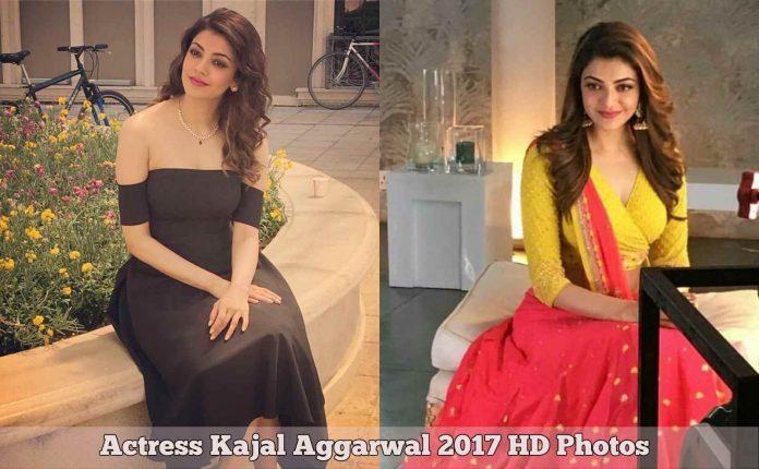 Actress Kajal Aggarwal 2017 HD Photos