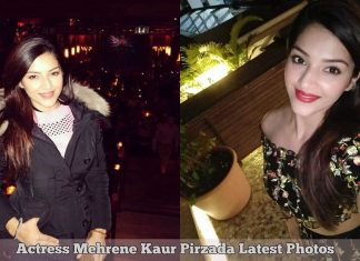 Actress Mehrene Kaur Pirzada Latest Photos