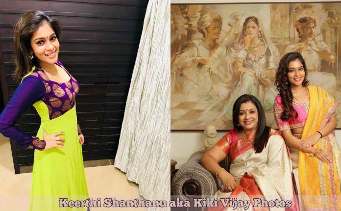 Keerthi Shanthanu aka Kiki Vijay Photos