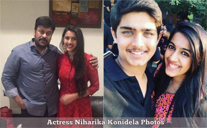 Oru Nalla Naal Paathu Solren Actress Niharika Konidela Photos