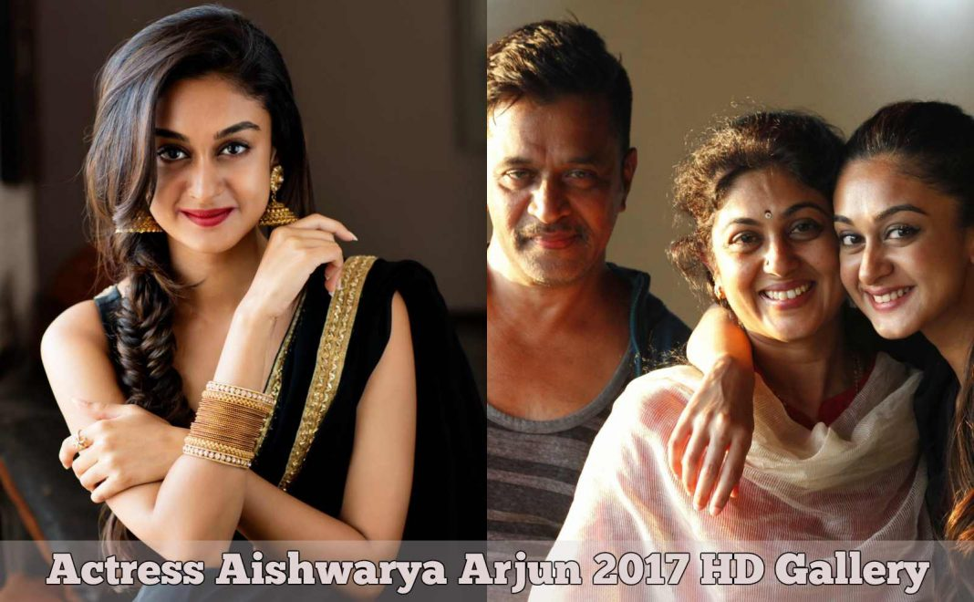 Actress Aishwarya Arjun 2017 Photos