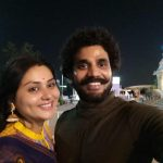 Actress Namitha with Husband Photos  (3)