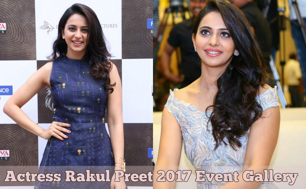 Actress Rakul Preet 2017 Event Stillls