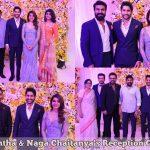 Samantha & Naga Chaitanya's Reception HD Photos