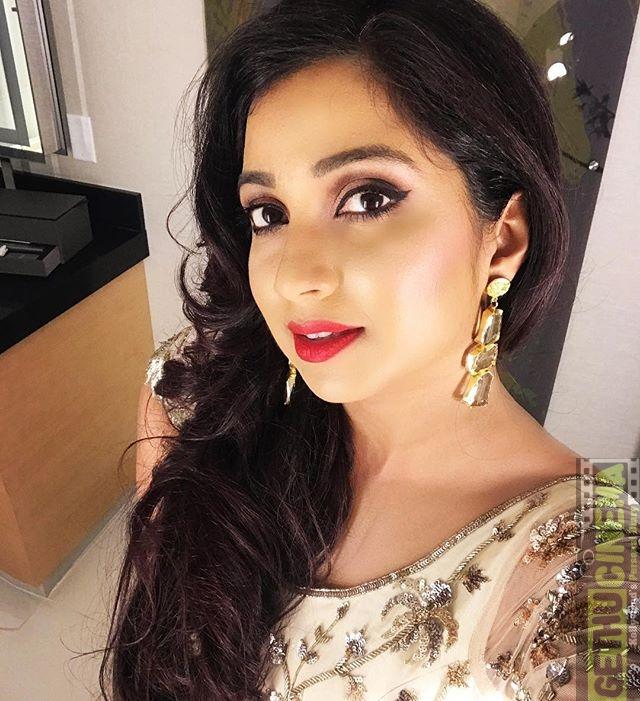 Singer Shreya Ghoshal 2017 Cute Hd Gallery - Gethu Cinema-4050