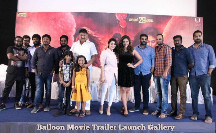 Balloon Movie Trailer Launch