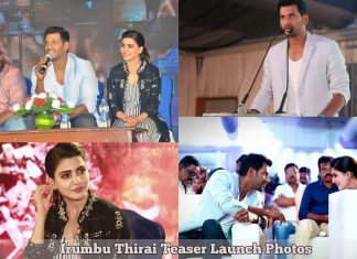 Irumbu Thirai Teaser Launch Photos