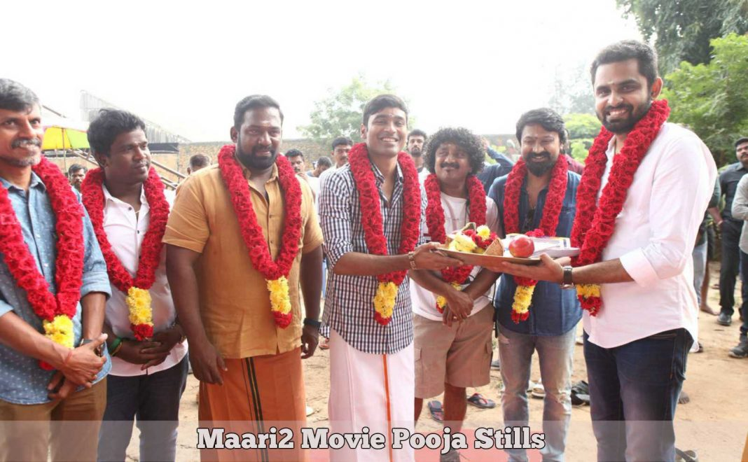 Maari2 Movie Pooja Stills