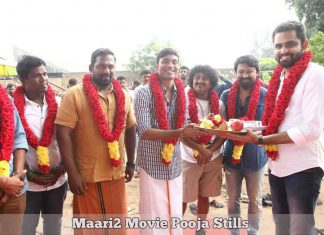 Maari2 Movie Pooja Stills