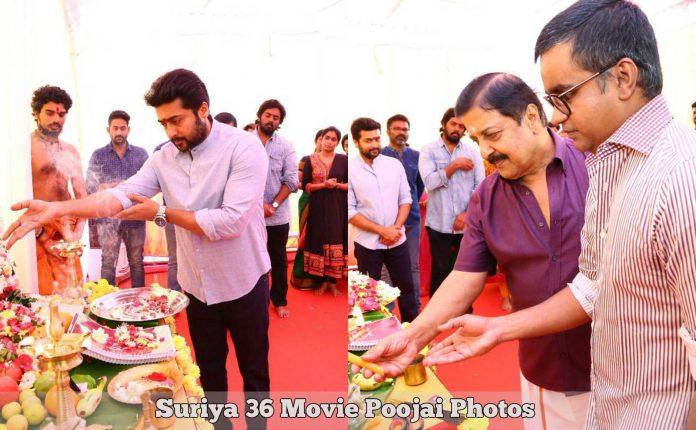 Suriya 36 Movie Poojai