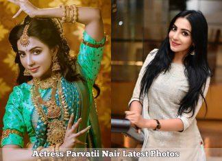 Actress Parvatii Nair in Photoshoot & HD Photos