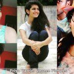 Priya Varrier Unseen Pictures