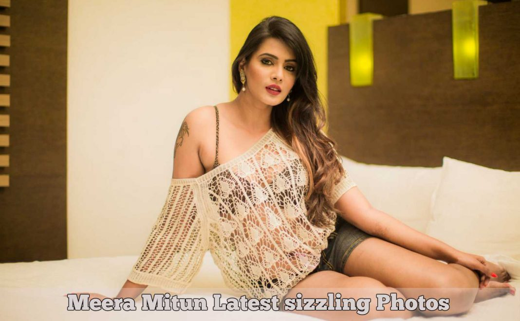 Meera Mitun Latest Sizzling Photos