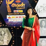 Athulya Ravi Aval Vikatan award photos