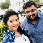 Athulya Ravi selfie  with panda