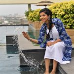 Athulya Ravi water photos