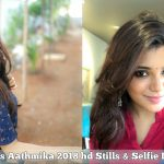 Aathmika, 2018 hd Stills, collage, Selfie