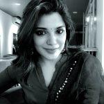 Aathmika, black & white, selfie
