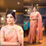 Aathmika, saree, traditional look