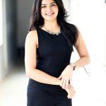 Amritha Aiyer, kaali fame, smile, black