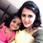 Anjana Rangan, selfie, babe, child