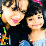 Anjana Rangan, selfie, car, cute child